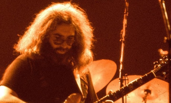 Jerry Garcia Photo by Elliot Newhouse