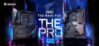 Placas-mãe da GIGABYTE da série Z590 tem vendas impulsionadas com o lançamento dos novos processadores da Intel
