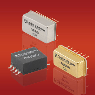 Fairview Microwave Releases New SMT Noise Sources Covering 0.2 MHz to 3 GHz Frequency Ranges