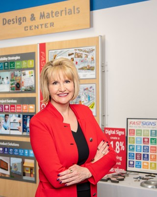 Catherine Monson, CEO of FASTSIGNS International, Inc.