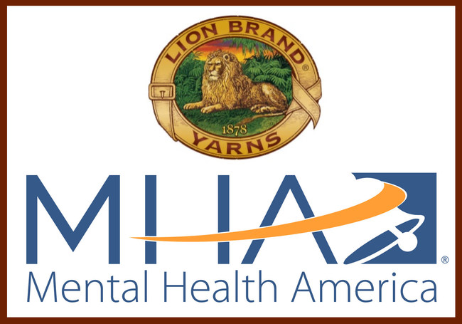 Lion Brand Yarn Company Launches Partnership with Mental Health America