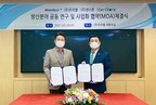 SSenStone and Wooribyul sign MOA for joint research and commercialization of defense industry