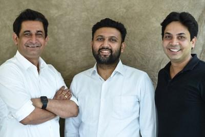 DotPe founders Shailaz Nag, Anurag Gupta and Gyanesh Sharm