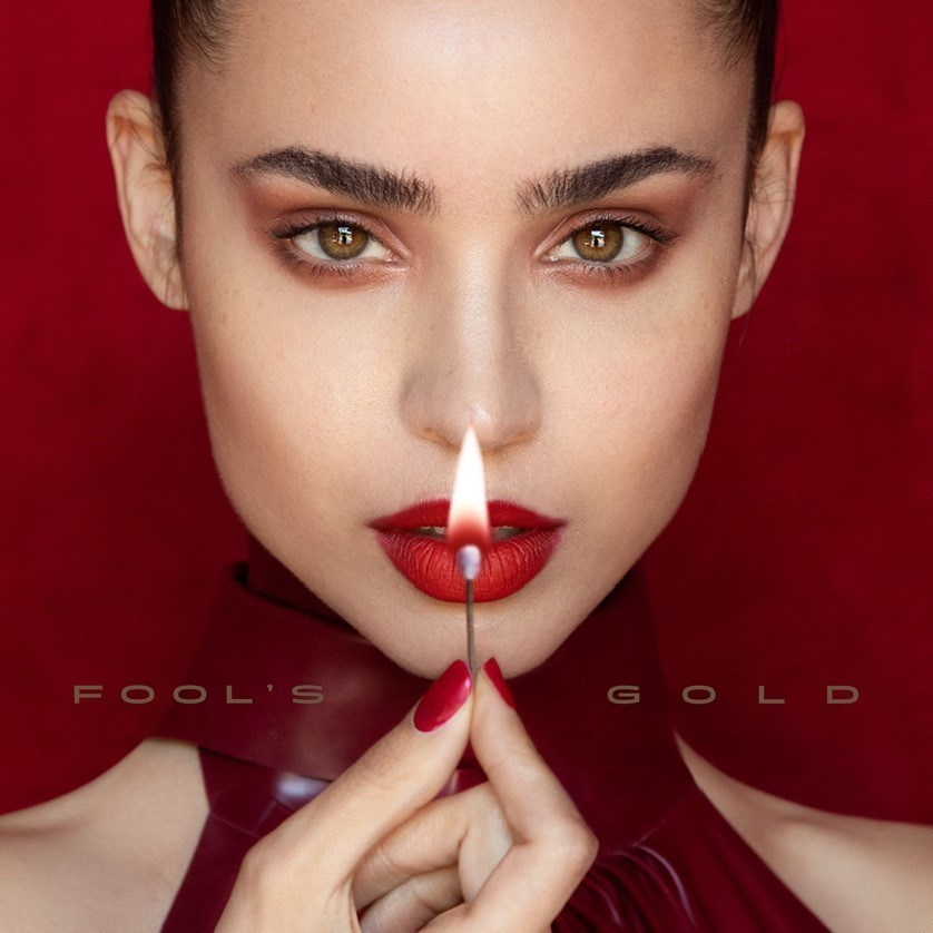 """Sofia Carson """"Fools Gold"""" Cover Art"""