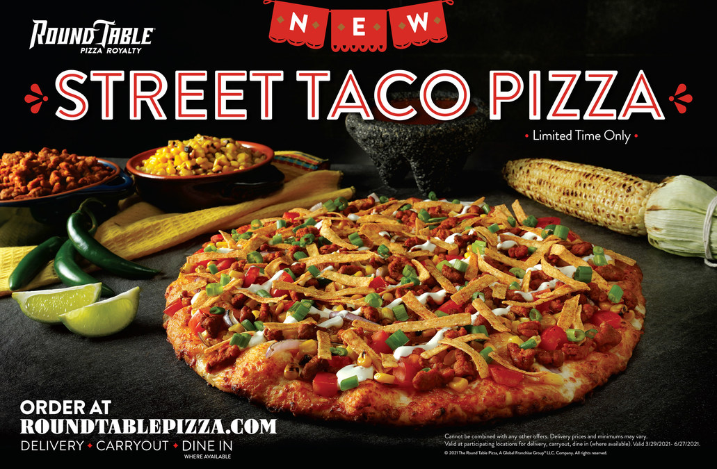 Round Table Introduces New, Round Table Toppings