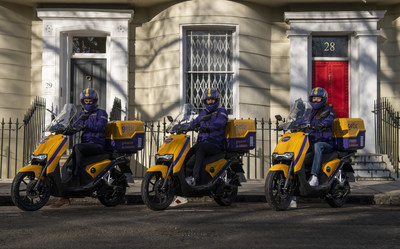 Getir UK Couriers (PRNewsfoto/Getir)