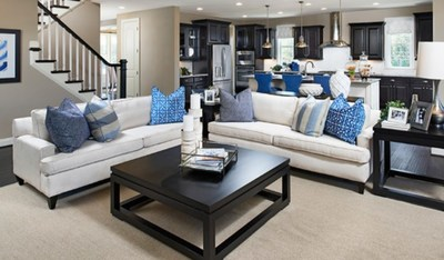 Richmond American's Donovan floor plan is modeled at Brunswick Crossing in Brunswick, Maryland.