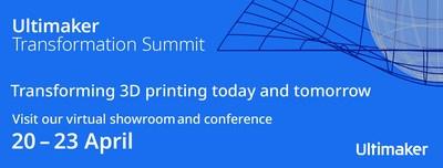 Ultimaker transformation summit facebook banner