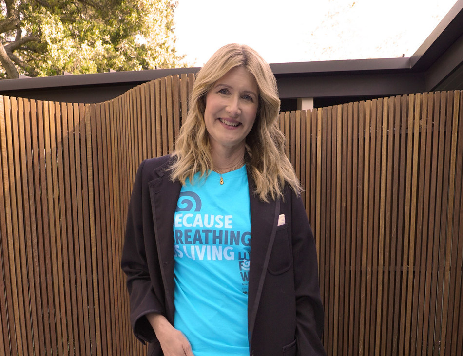 Award-winning actress Laura Dern is kicking off the American Lung Association's 2021 LUNG FORCE Walk season by inviting the public to join a local community Walk or join her virtual Walk team to raise funds to defeat lung cancer.