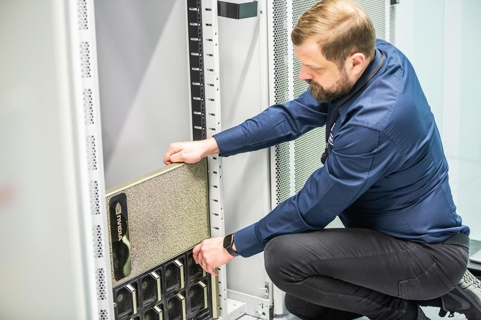 Peptone Ltd. completes the installation of their first NVIDIA DGX A100 supercomputing node in Verne Global HPC-facility in Keflavik Iceland to scale up their AI-driven Protein Engineering Operating System (PeOS). Peptone Ltd. becomes one of the first computational biology and molecular physics companies in Europe to operate on 100% renewable energy sources.