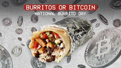 On April 1, National Burrito Day, Chipotle will give away $100,000 in free burritos and $100,000 in Bitcoin. This occasion makes Chipotle the first U.S. restaurant brand to offer a cryptocurrency giveaway to consumers.
