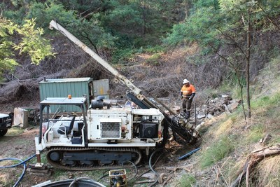 Figure 1 – Diamond Drilling Rig - Happy Valley Mining Centre (CNW Group/E79 Resources Corp.)