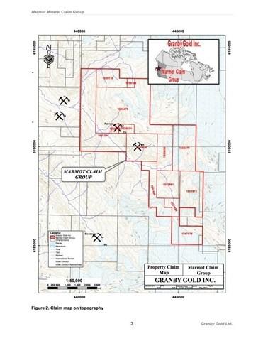 Marmot Claim Block (CNW Group/Cache Exploration Inc.)