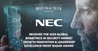 NEC Applauded by Frost & Sullivan for its Vertical-specific Biometric Identity Solutions