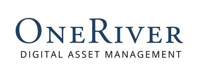 One River Digital Asset Management logo (PRNewsfoto/One River Digital Asset Management)