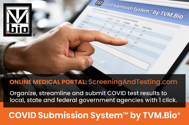 COVID Submission System