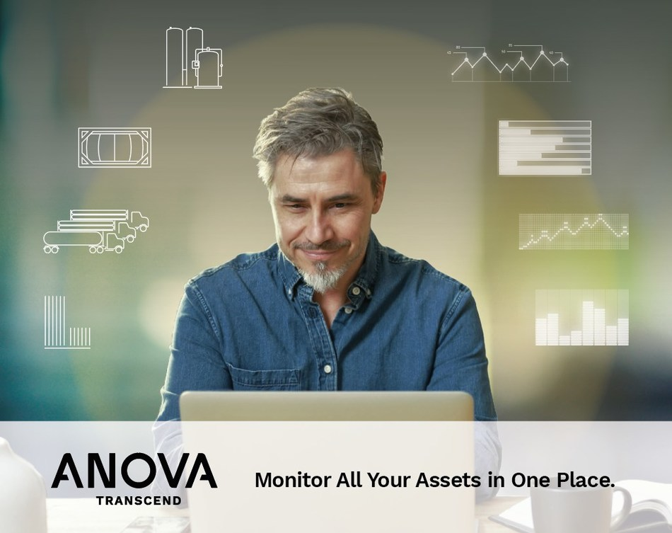 Anova Transcend™ Advances Industrial Gases Supply Chain Monitoring - enabling producers and distributors to monitor all their assets in one platform at any scale.