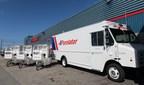 Purolator将道路命名为第一国快递部署全电力送货车