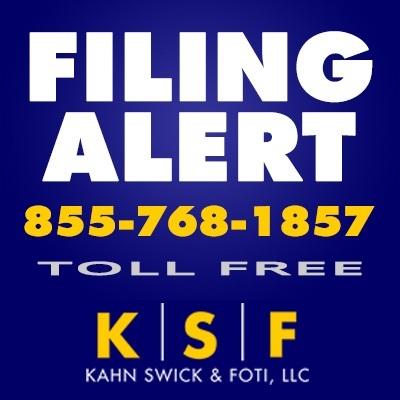 KSF Filing Alert