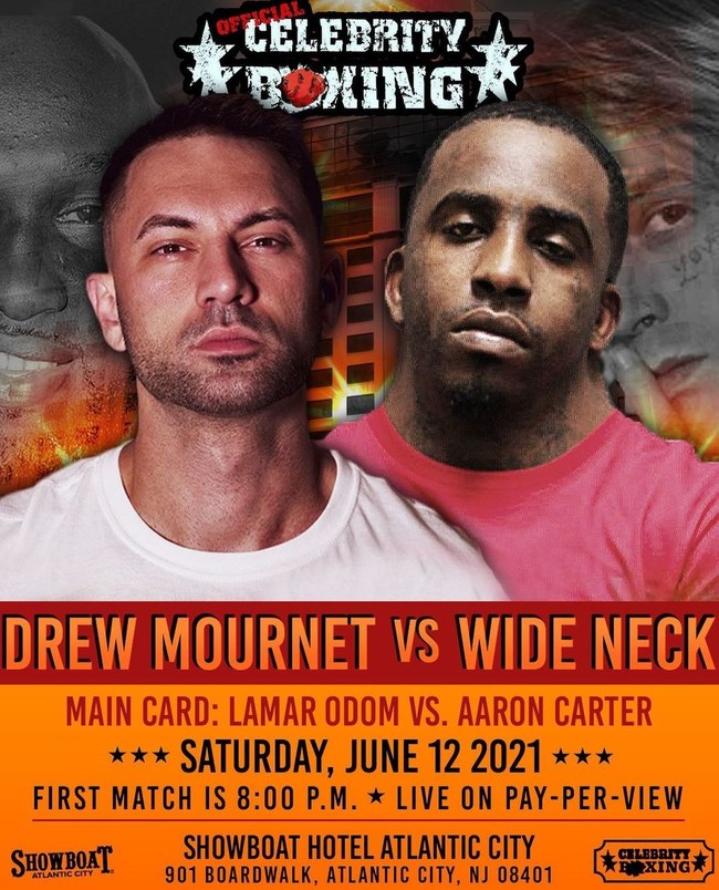 Fight Flyer, Official Celebrity Boxing