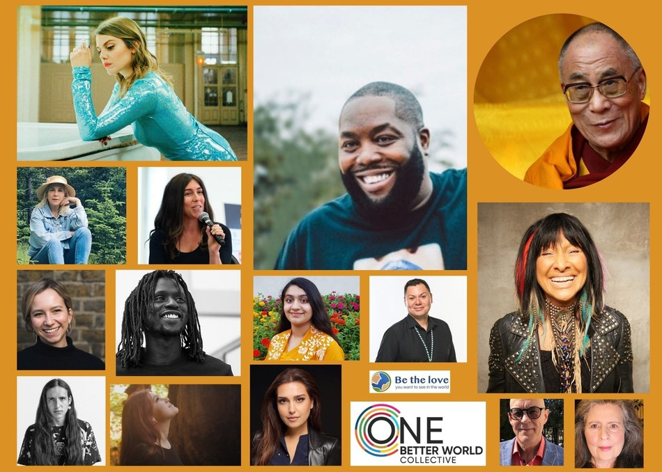 Clover Hogan, Killer Mike and 10 other change-makers to seek advice from the Dalai Lama - ONE Better World Collective (PRNewsfoto/ONE Better World Collective)