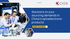 Chances to connect with China's optoelectronic suppliers...