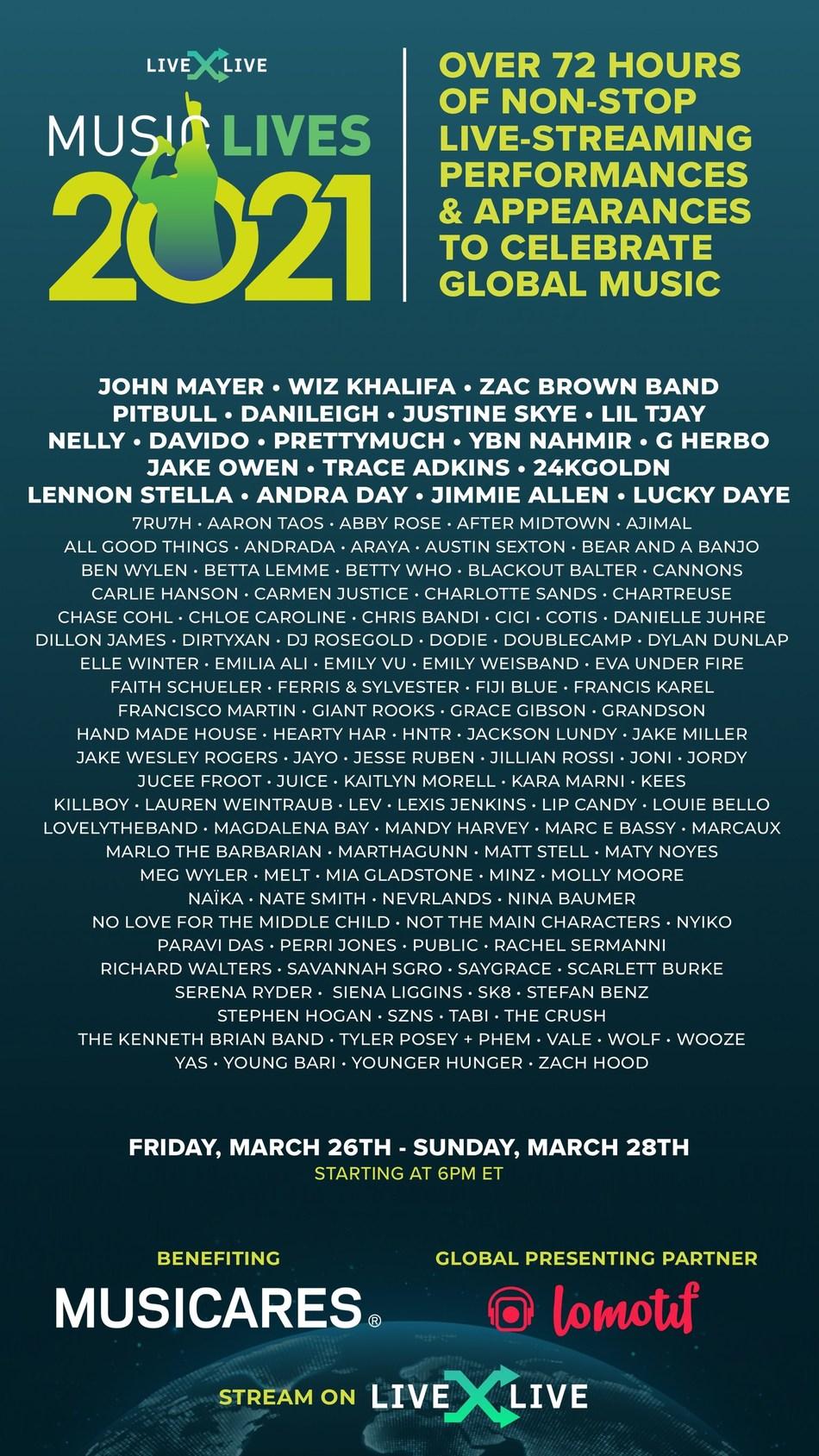 Music Lives 2021