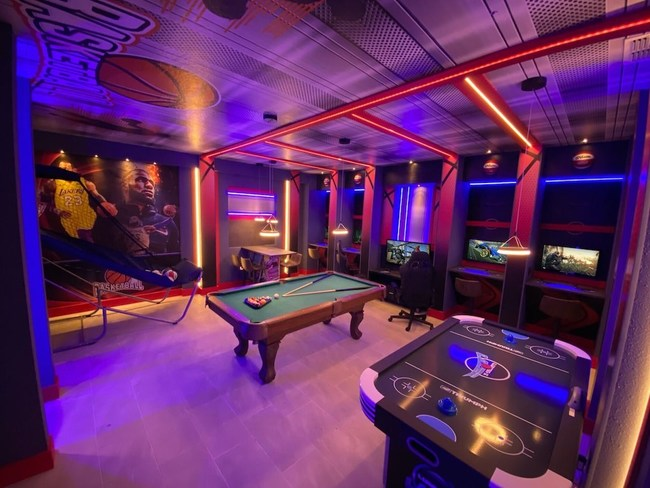 Game Room in a Vacation Rental at Storey Lake