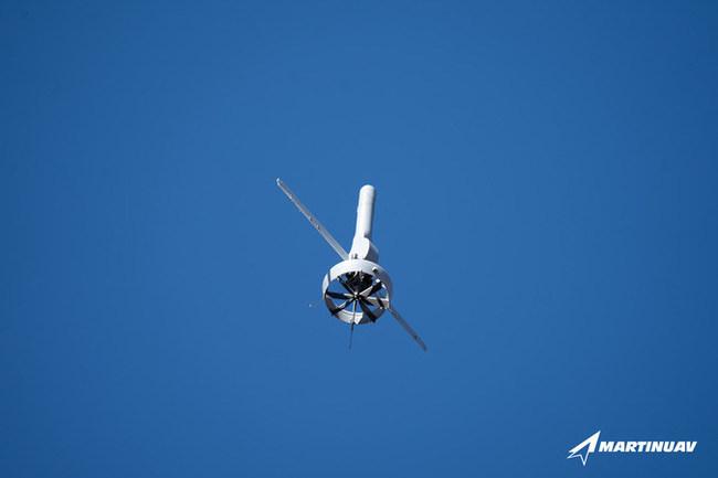 V-BAT 128 flying