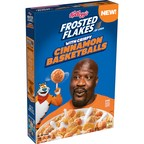 Shaquille O'Neal joins Tony The Tiger® at Center Court with...