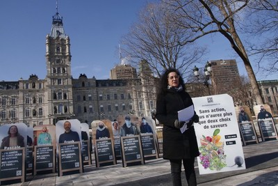 CDVQ - Point de presse du 30 mars 2021 (Groupe CNW/Coalition des droits des vapoteurs du Québec)