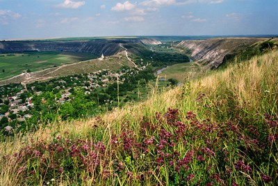 """Orheiul Vechi"" Cultural-Natural Reserve and Butuceni village by Mihai Potarniche. (PRNewsfoto/National Inbound Tourism Association of Moldova (ANTRIM))"