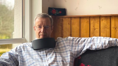 The former president of Estonia, Toomas Hendrik Ilves, was the first customer to receive Respiray's virus killing air purifier