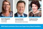 BNG Bank nominates three new Supervisory Board members...
