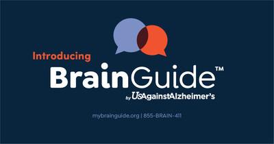 BrainGuide (PRNewsfoto/UsAgainstAlzheimer's)