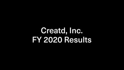 Creatd, Inc. Reports Fiscal Year 2020 Financial Results