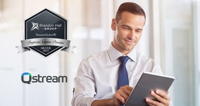 Qstream Certified as Smartchoice® Preferred Provider by Brandon Hall Group