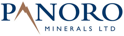 Panoro Minerals Ltd. Logo (CNW Group/Panoro Minerals Ltd.)
