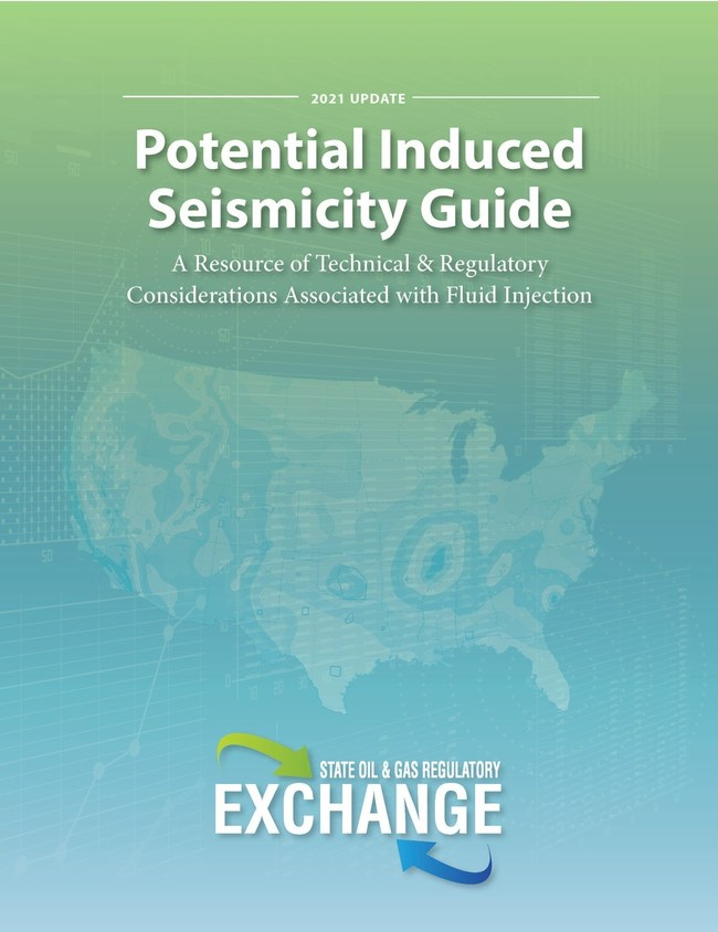 The Exchange released its 2021 Update of the Potential Seismicity Guide: A Resource of Technical & Regulatory Considerations Associate with Fluid Injection in March 2021. Download the report at https://www.stateoilandgasregulatoryexchange.com/.