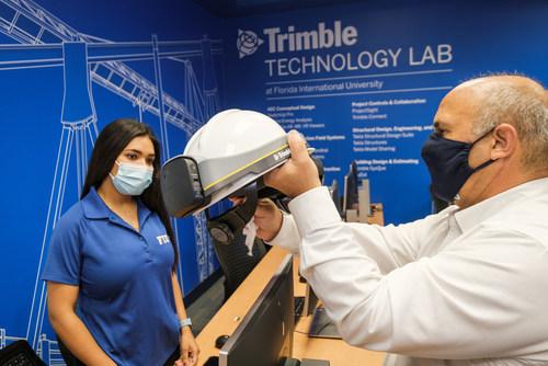 Trimble and Florida International University Establish Trimble Technology Lab at the Moss School of Construction, Infrastructure and Sustainability