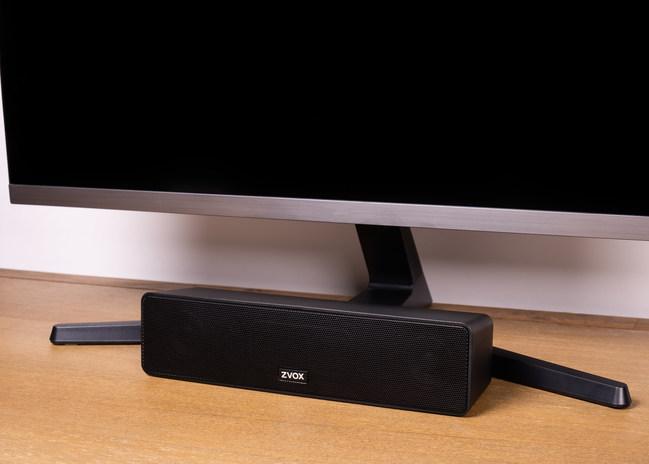 ZVOX AV100 TV Speaker Featuring AccuVoice Hearing Aid Technology - with TV