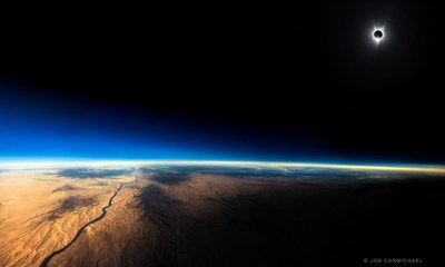 """The Most Amazing Photo of an Eclipse Ever Taken Entitled """"108"""" by Jon Carmichael"""