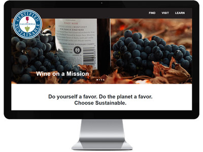A new website at californiasustainablewine.com helps consumers, wine trade and other visitors find sustainable wines, wineries and vineyards in California that are certified with a rigorous third-party audit. The California wine industry is a global leader in sustainability.