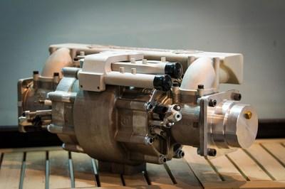 The 10kg super efficient Aquarius Engine (Credit: David Katz) (PRNewsfoto/AQUARIUS ENGINES)
