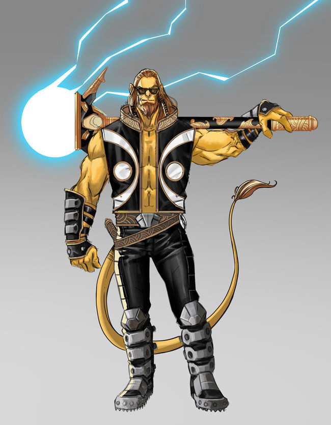 Monkey Master created by Stan Lee and Sharad Devarajan. Artwork by Graphic India and Jeevan J. Kang