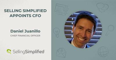 Selling Simplified, une entreprise de génération de demandes interentreprises de premier plan, annonce la nomination de Dan Juanillo au poste de directeur financier.