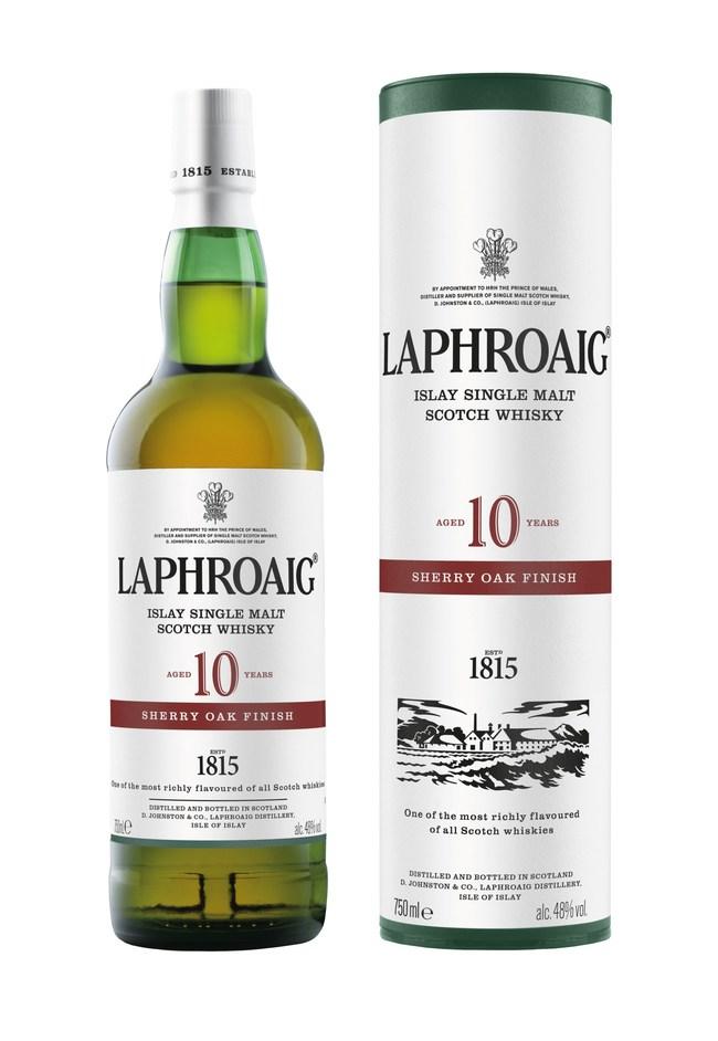 Laphroaig 10-Year-Old Sherry Oak Finish