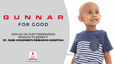 GUNNAR Optiks Announces Philanthropic Partnership With St. Jude Children's Research Hospital