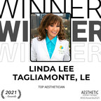 Linda Lee Tagliamonte, LE receives Top Aesthetician in the Aesthetic Everything® Aesthetic and Cosmetic Medicine Awards 2021