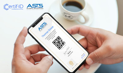 ASTS Global Education Makes Students Industry-Ready With Certif-ID